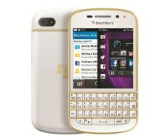 Blackberry Q10 White Gold